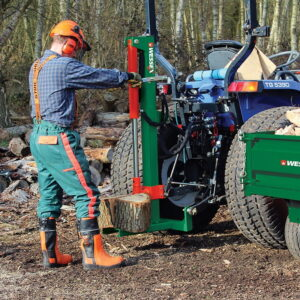 LS-100 tractor mounted log splitter