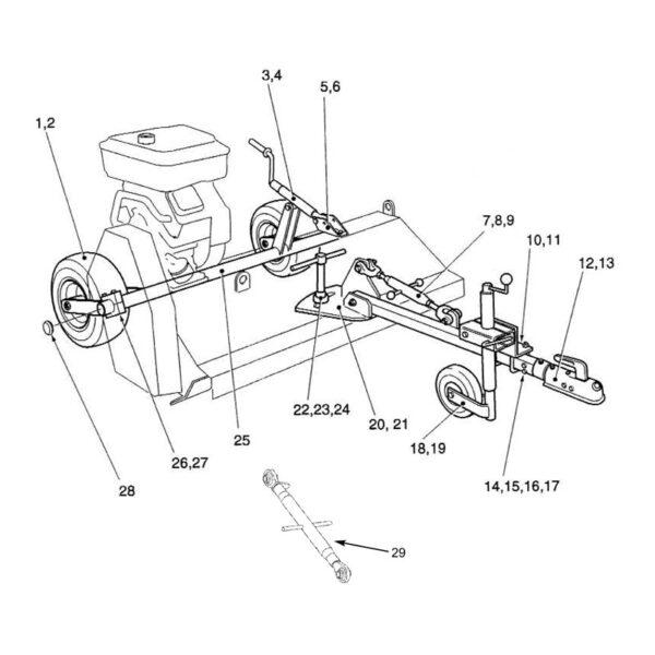 Drawbar Spacer-0