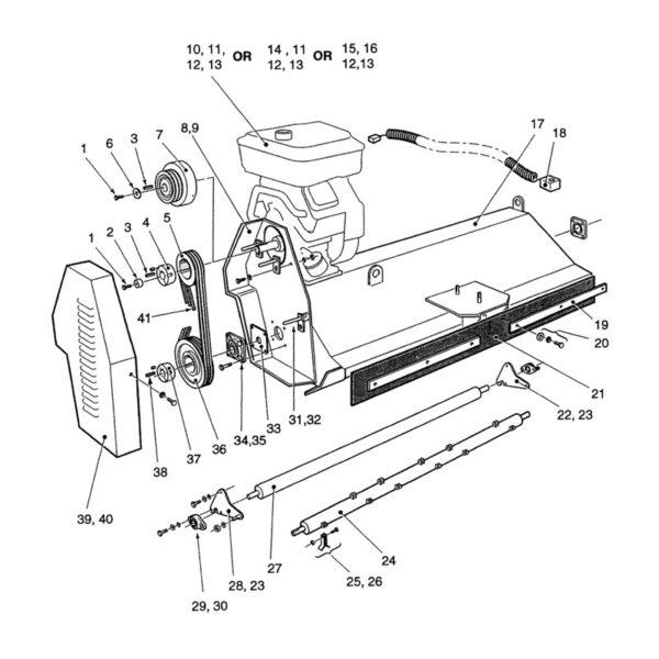 Engine (13hp - Honda GX) -0