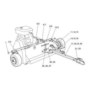AF-120 Side Wheel Assembly