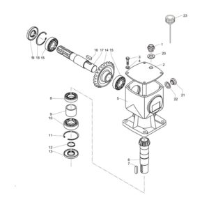 CM-120,150,180 Gearbox Assembly
