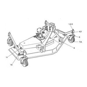 CR-24/2 & 24/4 4 Wheel Assembly