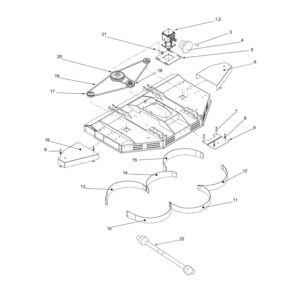 CRX-150 Drive & Baffles