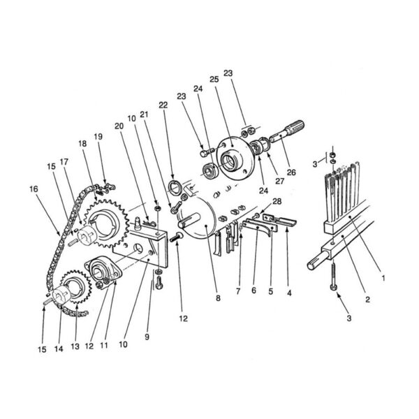 Bearing Bracket Fastening Set