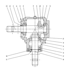 HTC-18 Gearbox