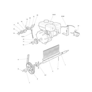 MTC/MTX-120 Engine Drive Assembly