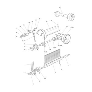 MTC/MTX-120 Gearbox Drive Assembly