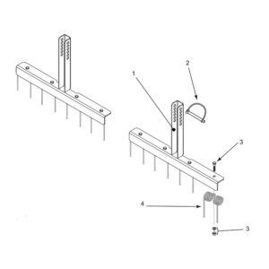 MTC, MTX 120 MKII Spring Tine Option