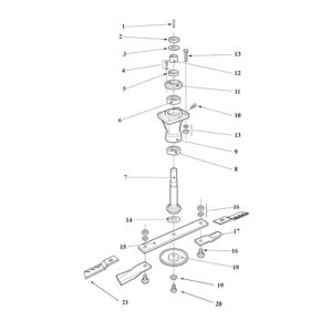 RMX-360 Spindles Assembly