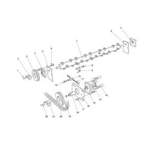TGX-150 H Drive Assembly