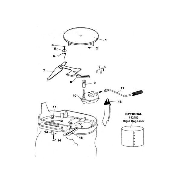Hand Crank Assembly-0
