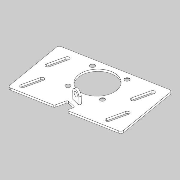 RMX 240 Gearbox Adjusting Bracket -0