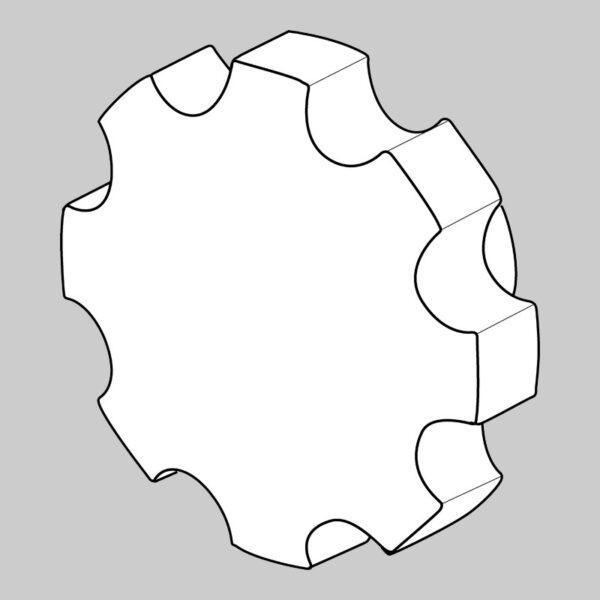 Thumb Wheel Knob -0