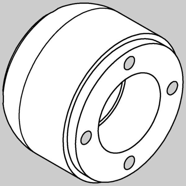 Roller End (4 Bolt Fixing) -0