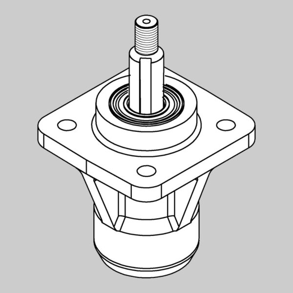 Spindle Assembly (doesn't include WX-0147 Key) -0