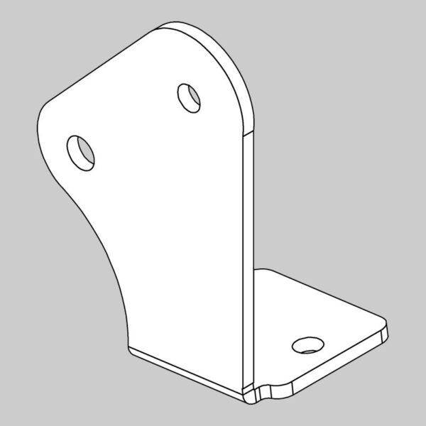 Left Hand 'A' Frame Bracket -0