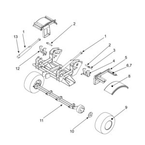 CRX-410 Rear Chassis