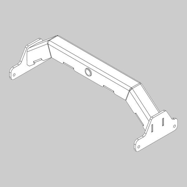 Lower Gimbal Bracket - Front