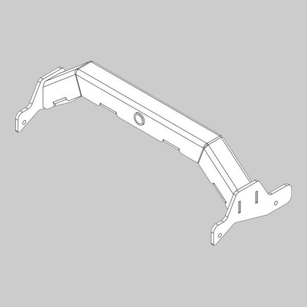 Lower Gimbal Bracket - Rear