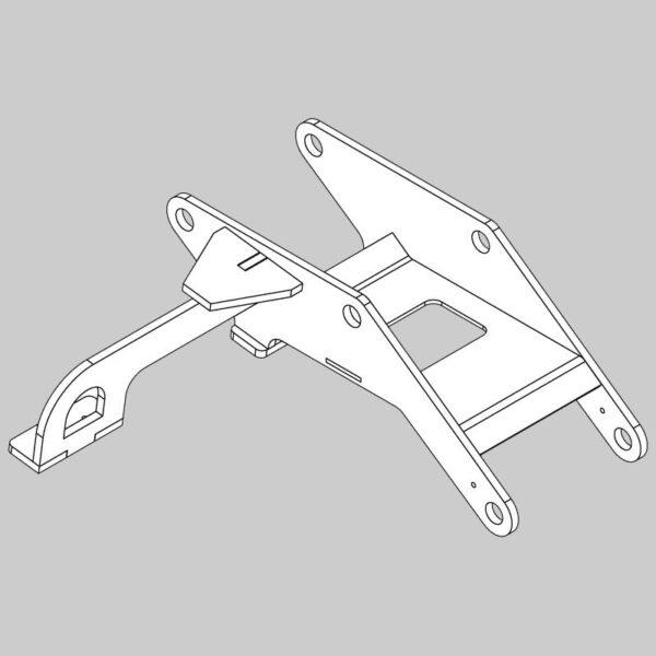 Gimball Carriage Fabrication - RH