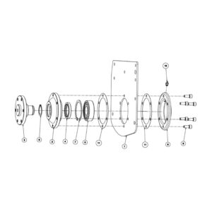 RC Rotary Cultivator- Non Drive Assembly