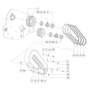 WFM 200/225 HD - Drive Assembly