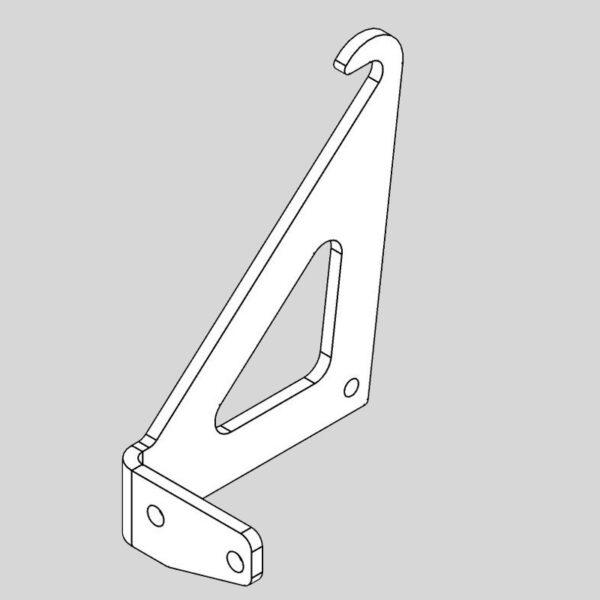 Wessex WX-46980 Deck Guide Hook RHS-0