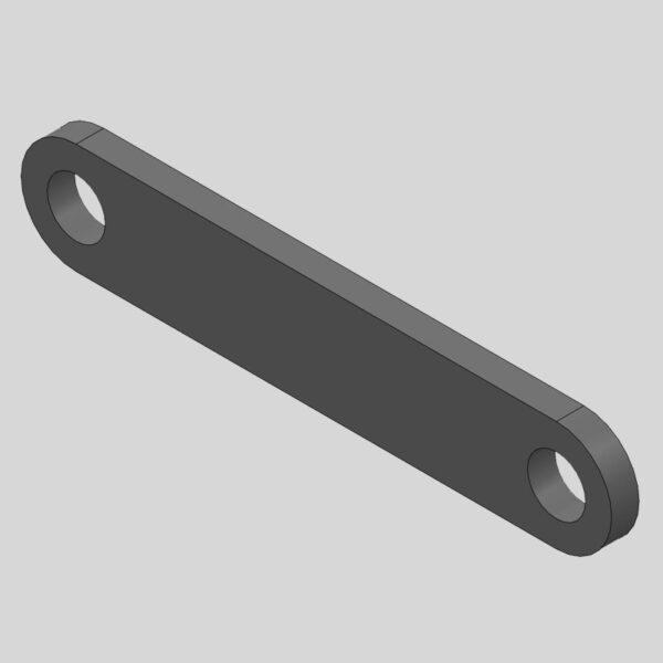 Wessex WX-47980 CRX-320 Rear ProLift Tie Rod-0